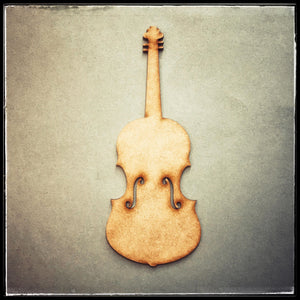12cm MDF Imagination Violin