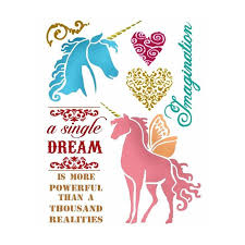Stamperia Stencil - Flexible transparent 20x15cm - Wonderland, Craft Measuring & Marking Tools by The Craft House