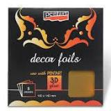 Pentart Decor Foils - 14 x14cm - 5 sheets per pack