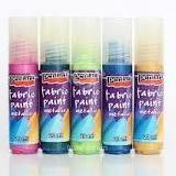 Pentart Fabric Paint Metallic -20ml