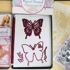 Magical Monarch Tin Collection, Decorative Stamps by The Craft House