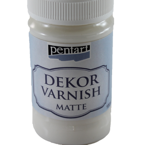 Pentart Dekor Varnish Matte 100 ml
