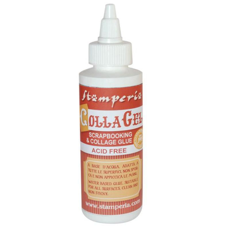 Stamperia CollaGel Scrapboking Glue 118ml - DC06M, Craft & Office Glue by The Craft House