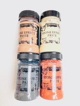 Load image into Gallery viewer, DaliTV22 -  Pentart Stone Effect Pastes Set of 4 - 100ml