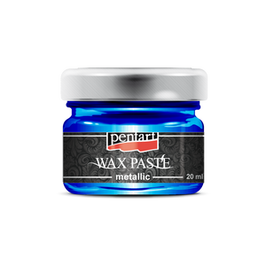 Pentart Coloured Metallic Wax Paste - 20ml