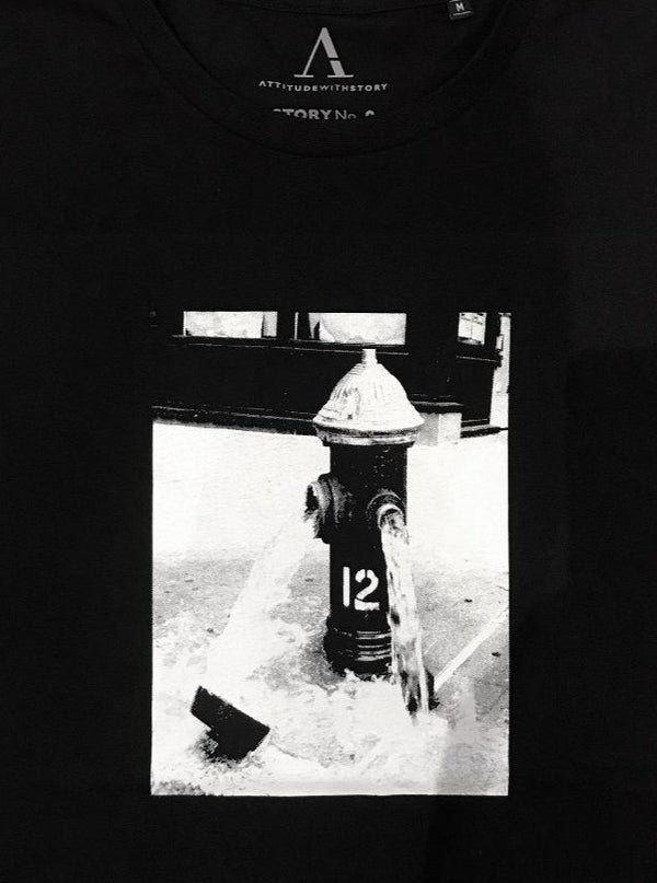 NEW! STORY NO. 9 FIRE HYDRANT 12 /T-shirt - Women