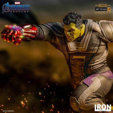 Iron Studios Avengers: Endgame Battle Diorama Series Hulk 1/10 Deluxe Art Scale Limited Edition Statue