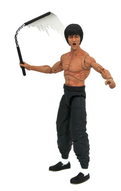 Diamond Select Bruce Lee (Shirtless) Action Figure