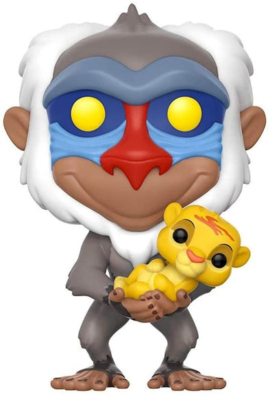 Funko POP! Disney Lion King-Rafiki with Simba