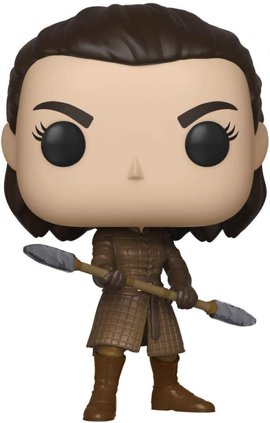 Funko POP! TV: Game of Thrones - Arya with Two Headed Spear