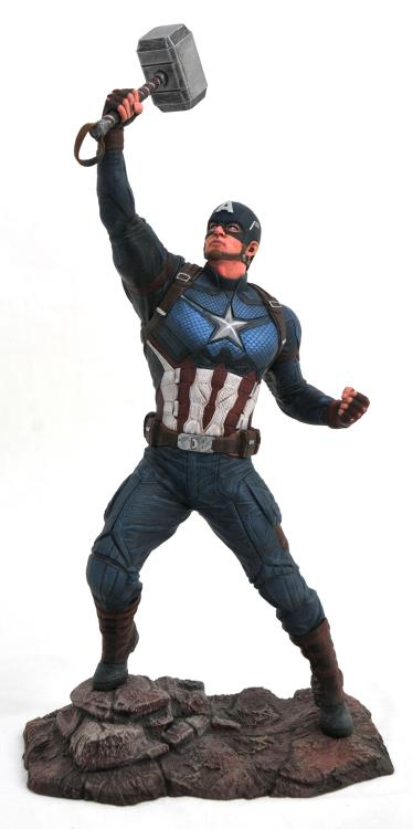 Diamond Select Marvel Gallery Avengers: Endgame Captain America Figure