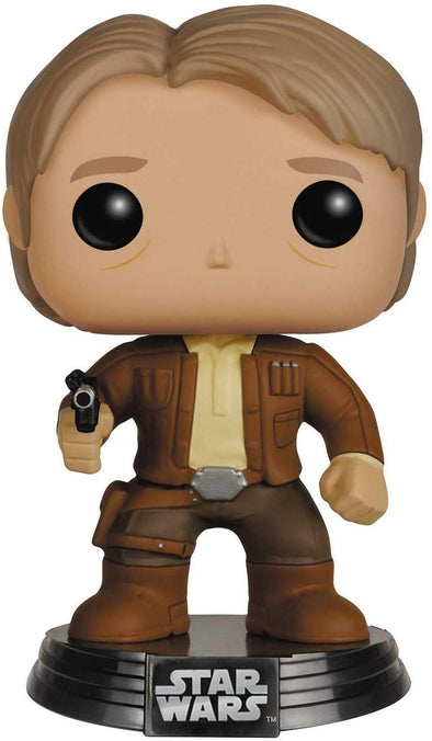 Funko POP! Star Wars: The Force Awakens - Han Solo Vinyl Figure