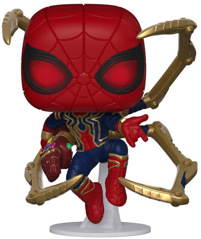 Funko POP! Marvel: Avengers Endgame - Iron Spider with Nano Gauntlet