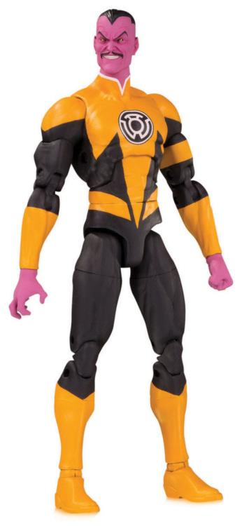 DC Direct Essentials Sinestro Action Figure