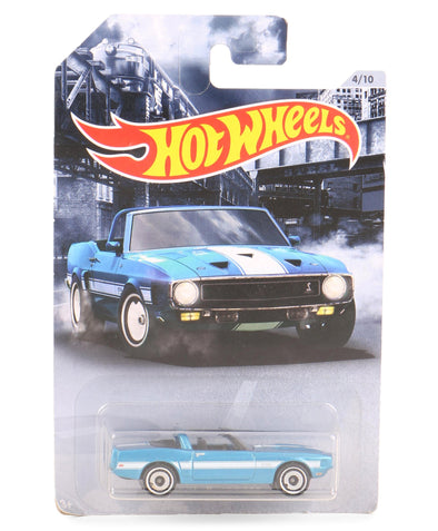 Hot Wheels Die Cast & Free Wheel 69 Shellby GT500 Toy Car - Sky Blue