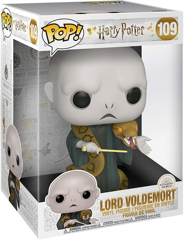 "Funko POP! Harry Potter: Harry Potter- 10"" Voldemort with Nagini"