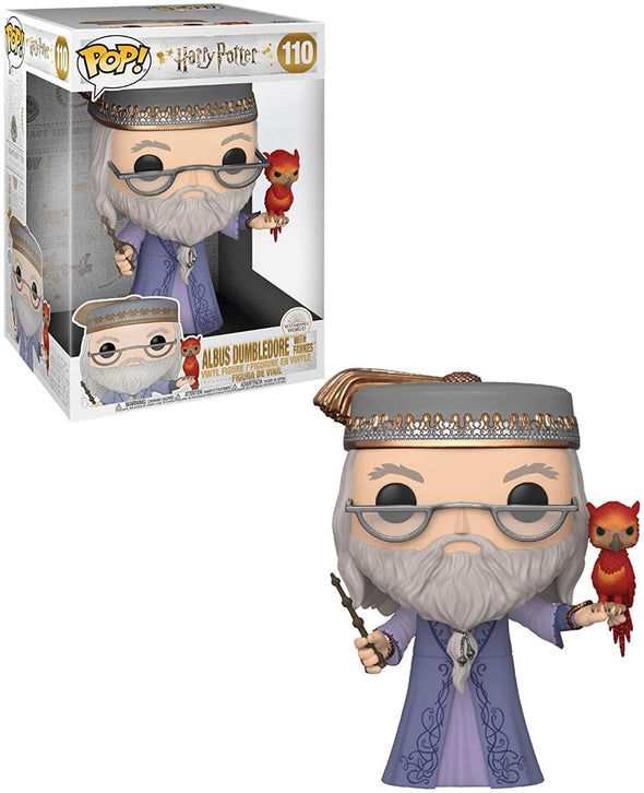 "Funko POP! Harry Potter: Harry Potter- 10"" Dumbledore with Fawkes"