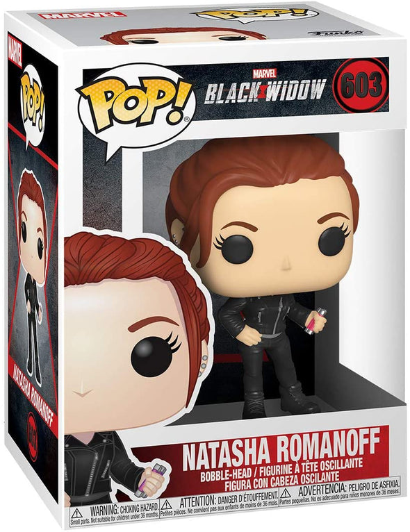 Funko POP! Marvel: Black Widow – Black Widow (Street)