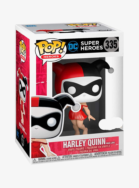 Funko POP! Heroes: DC Super Heroes - Harley Quinn [Mad Love] H.T. Exclusive