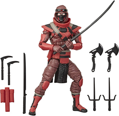 Hasbro G.I. Joe Classified Series Red Ninja Action Action Figure