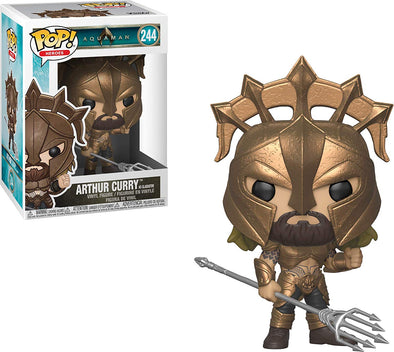 Funko POP! Heroes: Aquaman - Arthur Curry as Gladiator Vinyl Figure