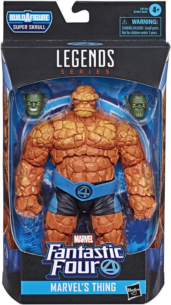 Hasbro Marvel Legends Series Fantastic Four - The Thing Action Figure