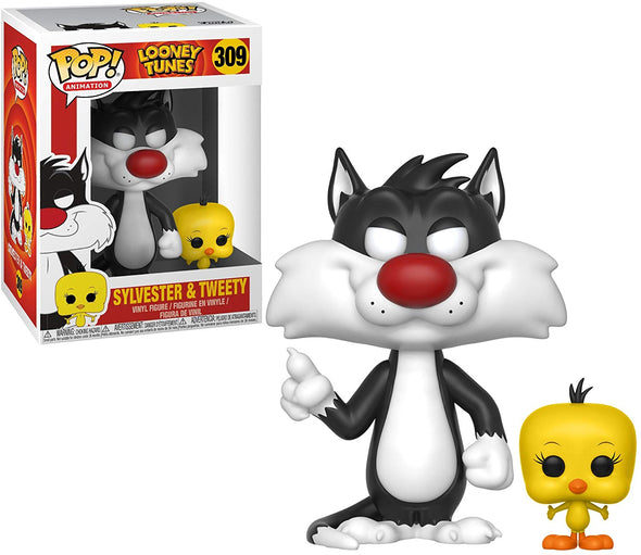 Funko POP! Animation: Looney Tunes - Sylvester & Tweety