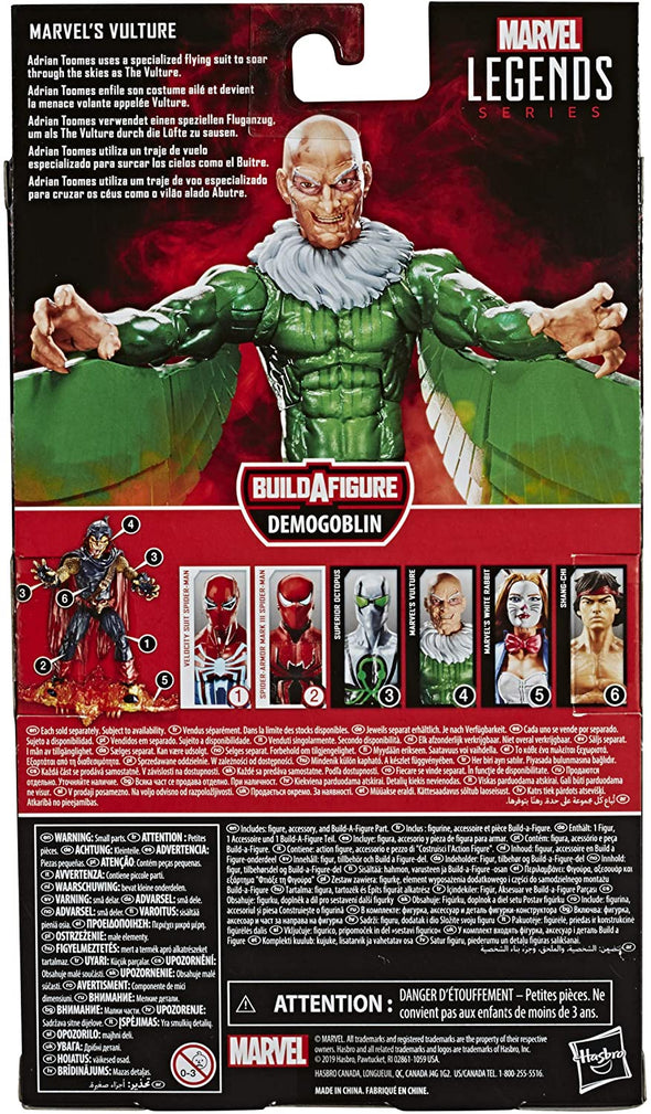 Hasbro Marvel Legends Demogoblin Wave : Marvel's Vulture Action Figure