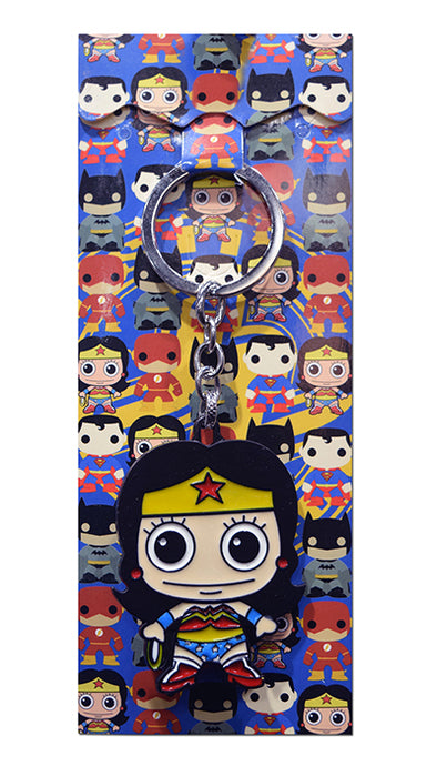 DC Comics Wonder Woman Chibi Die-Cast Metal Keychain