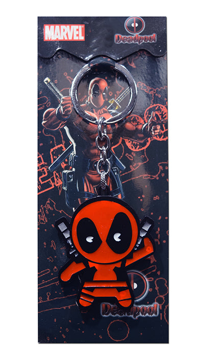 Marvel Comics Deadpool Chibi Die-Cast Metal Keychain