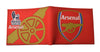 Arsenal Premier League Football Club Rubber Wallet