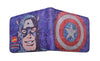 Captain America Comic Wallet