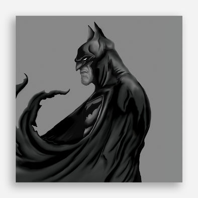 Monochrome series: Batman Poster