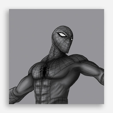 Monochrome series: Spider-Man Poster