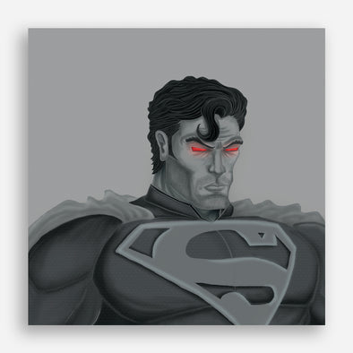 Monochrome series: Superman Poster