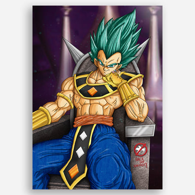 God Of Destruction Vegeta Poster