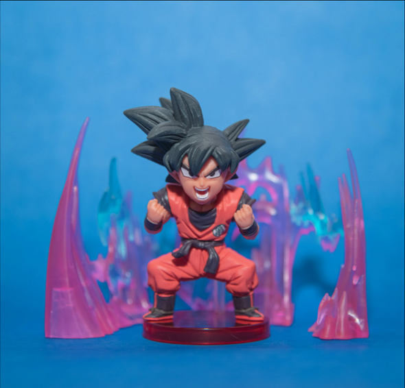 Banpestro Dragon Ball Super World Collectible Figure - Son Goku with effects