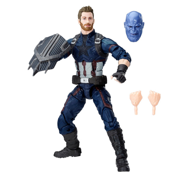 AVENGERS MARVEL LEGENDS SERIES 6-INCH CAPTAIN AMERICA - Nerd Arena