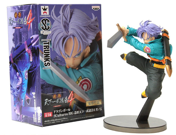 Banpresto Dragon Ball Z Scultures Figure Future Trunks - Nerd Arena