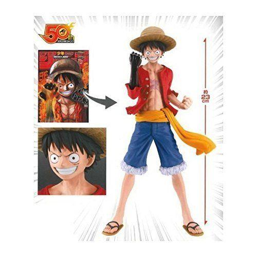 BANPRESTO Jump 50th Anniversary Figure Monkey D Luffy - Nerd Arena