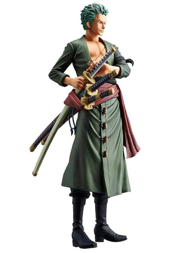 Banpresto One Piece: Roronoa Zoro The Grandline Men Grandista Figure - Nerd Arena