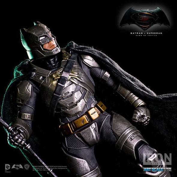 Batman v Superman Armored Batman 1/10 Art Scale Statue (Battle Damaged) - Nerd Arena