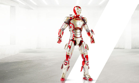 Comicave Studios SDCC Exclusive IRON MAN MARK 42 1/12 SCALE COLLECTIBLE FIGURE with Sofa set - Nerd Arena