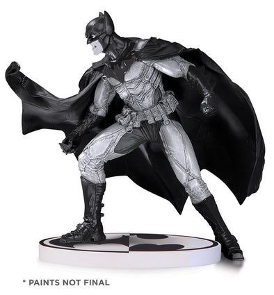 DC Collectibles Batman: Batman by Lee Bermejo Black and White Statue (Second Edition) - Nerd Arena