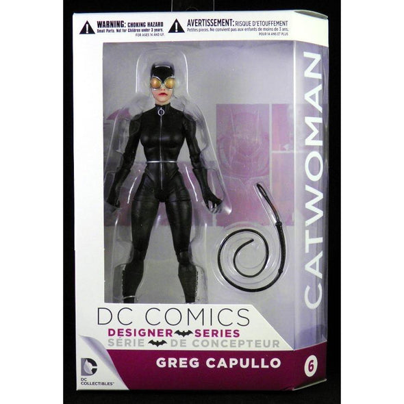 DC Collectibles DC Comics Designer Action Figures Series 2: Catwoman Figure by Greg Capullo - Nerd Arena