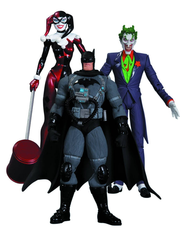 DC Collectibles Hush The Joker, Harley Quinn and Stealth Batman Action Figure Playset, 3-Pack - Nerd Arena