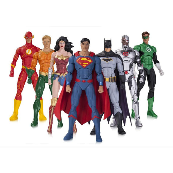 DC Collectibles Icons DC Rebirth Justice League 7-Pack - Nerd Arena