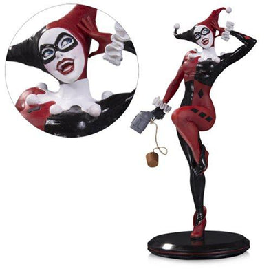 DC Comics Cover Girls Harley Quinn by Joelle Jones Statue - Nerd Arena