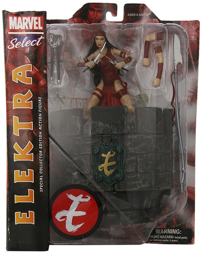 Diamond Select Toys Marvel Select Elektra Action Figure - Nerd Arena