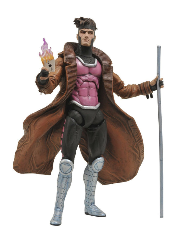 Diamond Select Toys Marvel Select: Gambit Action Figure - Nerd Arena